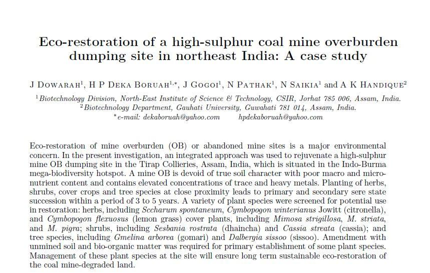 case study on environmental problems in india Malaria and related environmental issues in india: a case study occurrence of malaria and related environmental issues in environmental problems in.